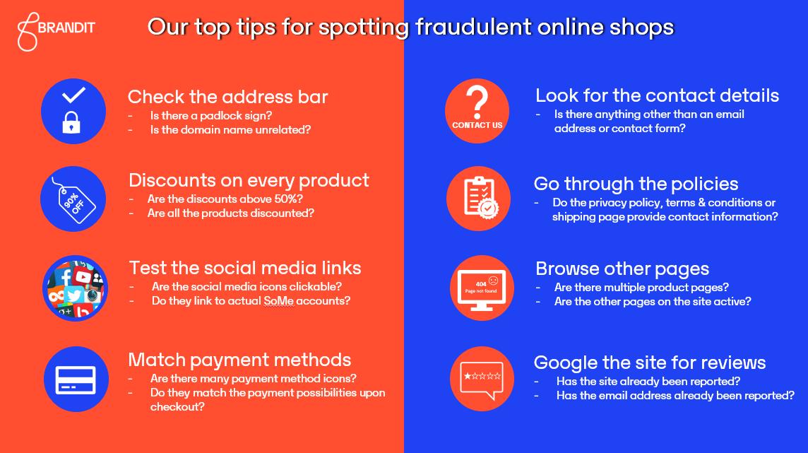 Top tips for spotting fraudulent websites